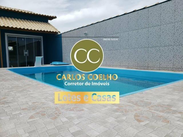 ES 387 Linda Casa no Condomínio Gravatá I em Unamar - Tamoios - Cabo Frio/RJ