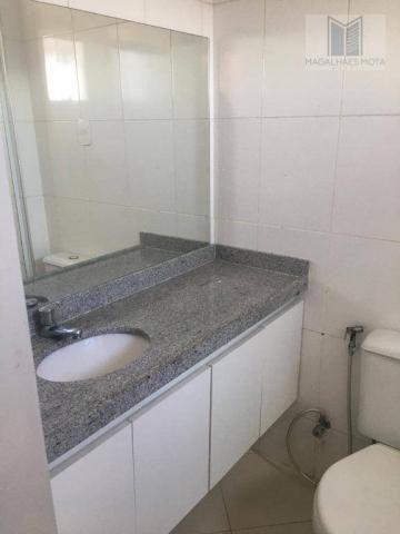 Apartamento com 2 dormitórios para alugar, 73 m² por R$ 2.020/mês - Meireles - Fortaleza/C - Foto 13