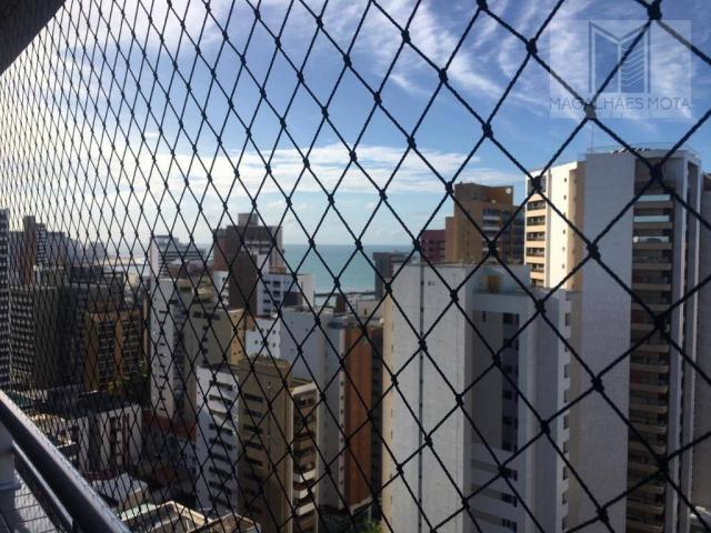 Apartamento com 2 dormitórios para alugar, 73 m² por R$ 2.020/mês - Meireles - Fortaleza/C - Foto 5