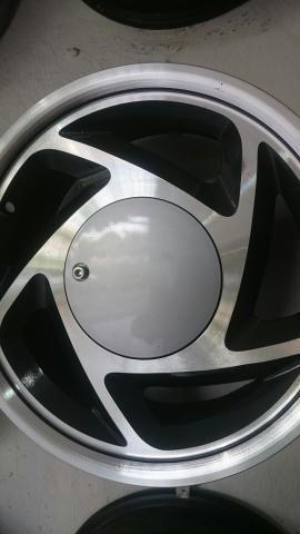 Rodas Ford Ka Fiesta Escort aro 14 lindos modelos - Foto 4