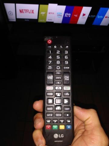 Smart TV 50 LG funcionando perfeitamente não aceito transferência bancária - Foto 2