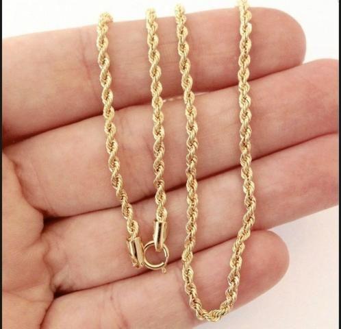 Colar e pulseira ouro 18k - Foto 3