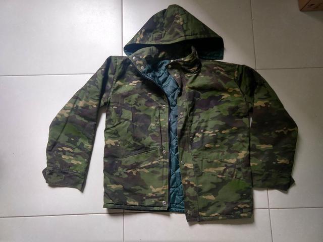 Jaqueta Camuflada tamanho M - Foto 3