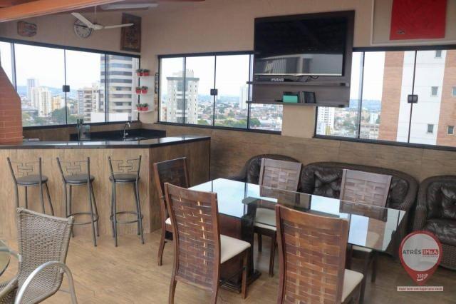 Cobertura com 4 dormitórios para alugar, 304 m² por R$ 6.000,00/mês - Setor Oeste - Goiâni - Foto 3