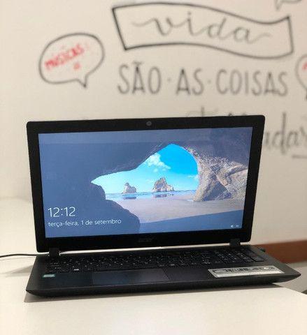 Notebook Acer/ I3 / 4GB / SSD 240GB / Tela de 15 - seminovo -Somos Loja Centro de NIterói - Foto 4