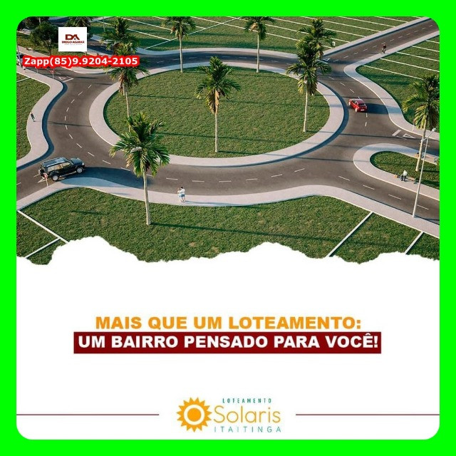 Loteamento Solaris Gererau- Invista @!#@ - Foto 10