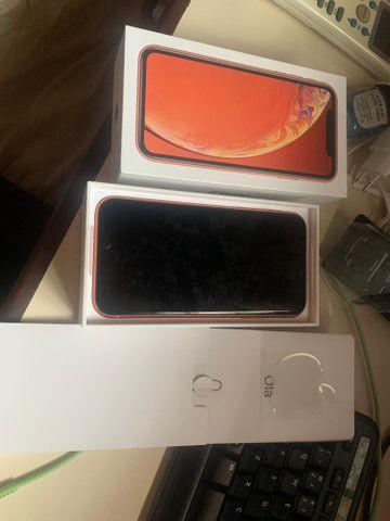 IPhone XR 64gb Coral, estado de novo - Foto 6