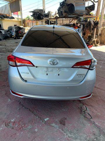 Toyota yaris 1.5 xls ano 2019 sucata somente peças - Foto 2