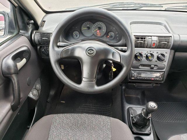Chevrolet classic 1.0 completo vendo troco e financio R$ 18.900,00 - Foto 9