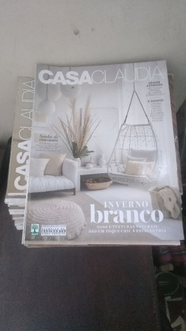 Vendo revistas Casa Claudia e Saúde