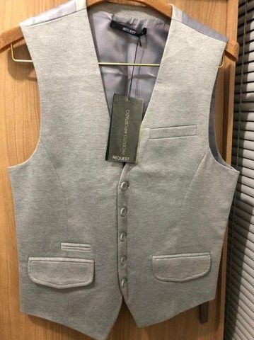 Vendo este colete casual cinza (NOVO)
