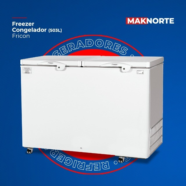 freezer para congelados fricon