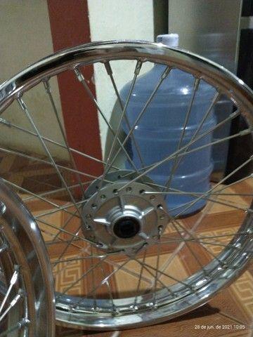 Rodas completas originais Honda - Foto 4