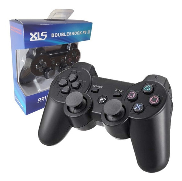 Controle Manete joystick sem fio Wireless Playstation 3 Play3 Play 3  - Foto 3