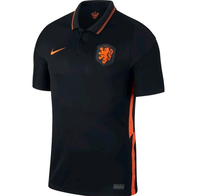 Camisa Seleção Holandesa 20/21 PRETA - Foto 6