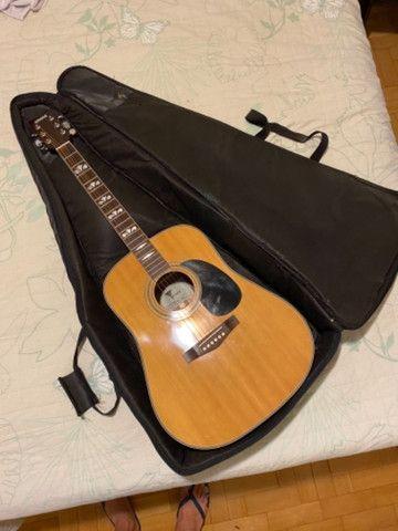 Capa acolchoada para violão  - Foto 4