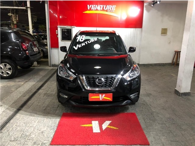 Nissan Kicks 2018 1.6 16v flex sv 4p xtronic