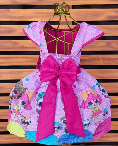 Vestido Lol Tamanho 6 - Foto 2