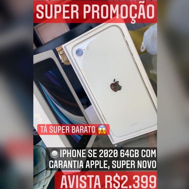 iPhone SE 2020 64gb com garantia Apple, SUPER OFERTA, SOMOS LOJA.