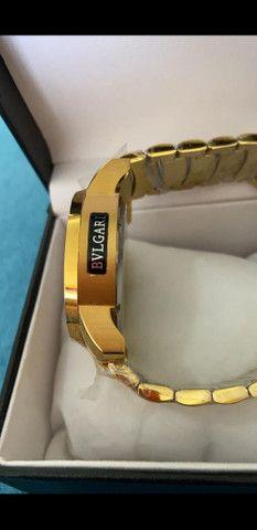 Relógio BVLGARI Cobra a prova d'água 100% funcional - Foto 5