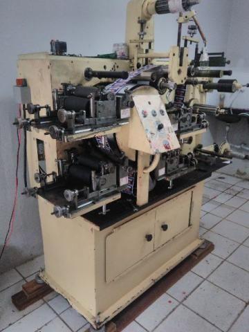 Maquina Flexografica 04 cores 160 mm