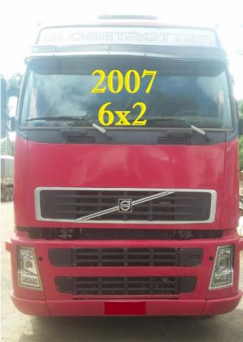 VOLVO FH 400 6X2 ANO/2007 GLOBETROTTER