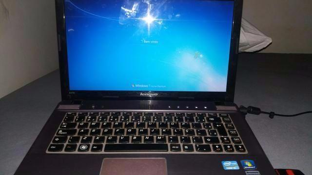 Notebook Lenovo Ideapad z470 i5