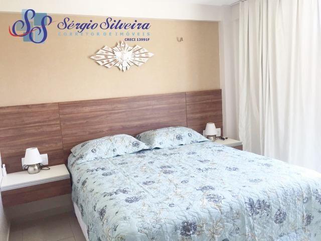 Apartamento à venda no Porto das Dunas com 3 quartos todo projetado Mediterranee - Foto 5