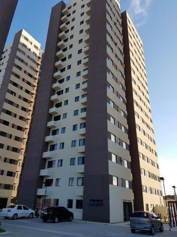 Vendo apartamento no Ecogarden no condomínio club em Ponta Negra, 54m2 2/4 sendo uma suite