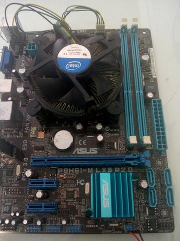 Kit upgrade placa mãe 1155 i5 2.9 4GB super conservada