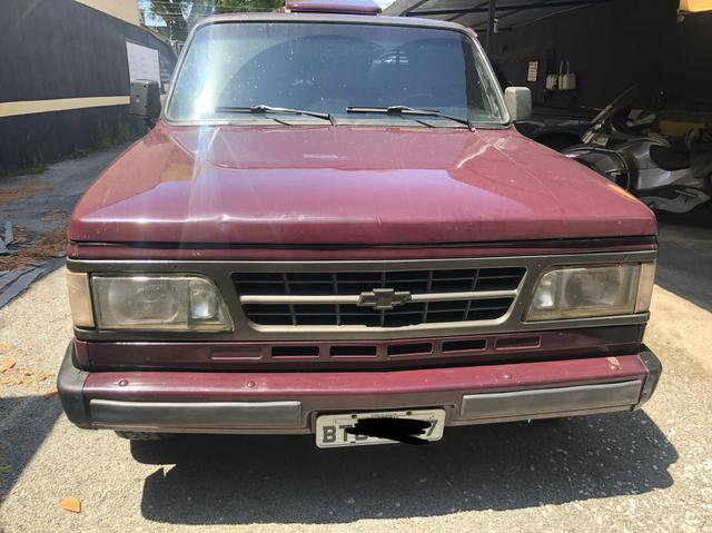 CHEVROLET d20 Custom de luxe 1992 maxion diesel turbo - Foto 3
