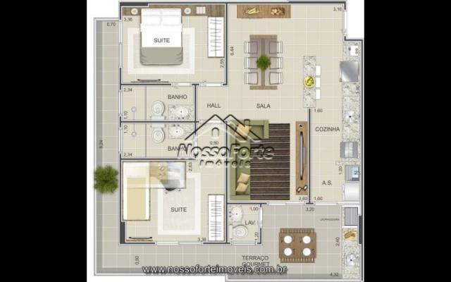 Lançamento Apartamento na Vila Mirim em Praia Grande - Foto 5