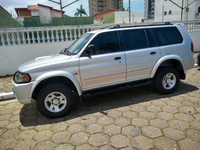 VENDO/TROCO SUV Mitsubishi Pajero Sport SE 2.8 td (diesel) AUT 4x4 2002/2003 - Foto 3