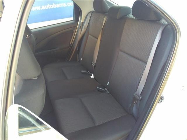 Toyota Etios 1.5 x sedan 16v flex 4p automático - Foto 9