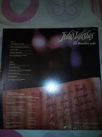 Disco vinil do cantor Júlio Iglesias - Foto 2