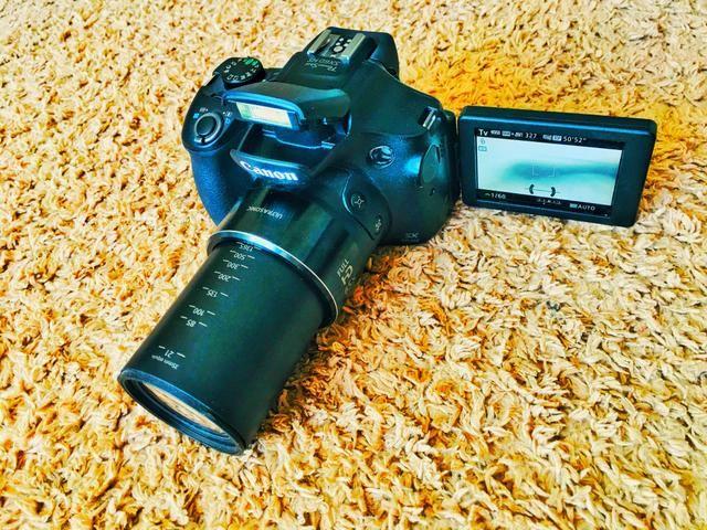 Câmera canon hs60 [Super Zoom]