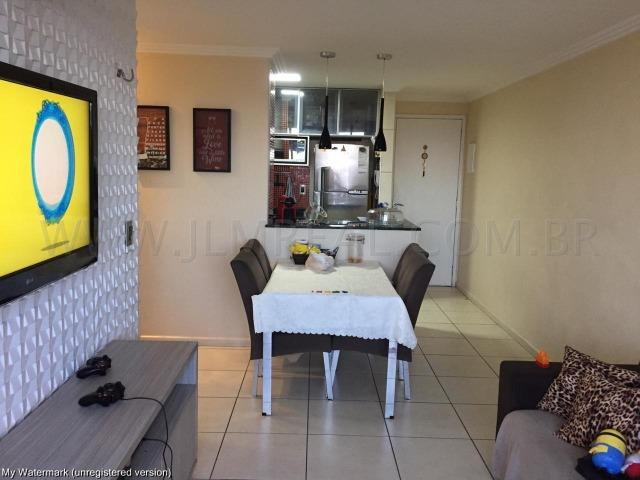(Cod.:084 - Damas) - Mobiliado - Vendo Apartamento com 74m², 3 Quartos - Foto 13