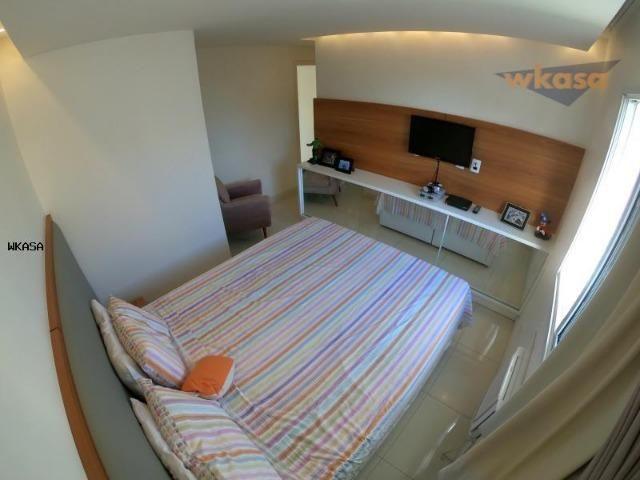 Apartamento 3 Quartos sendo 1 suíte, sol da manha - WK526 - Foto 12