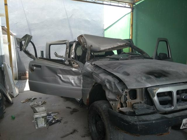 Ranger batida a venda a diesel - Foto 4