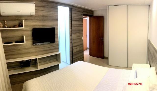 AP0967 Torre Espanha, apartamento na Aldeota, 3 suítes, móveis projetados, 2 vagas - Foto 6
