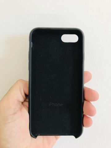 Capa Silicone aveludada Apple na caixa lacrado IPhone 7/8 7/8 plus X/XS XR 11 - Foto 5