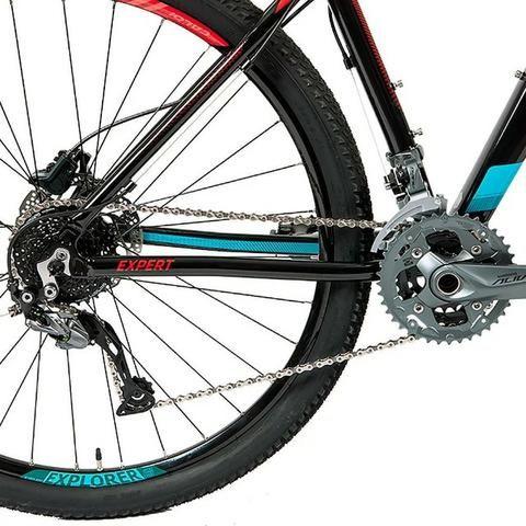 Bicicleta Caloi Explorer Expert 2019 - Nova, na caixa, c/ Garantia e Nota F - 10x s/ juros - Foto 4