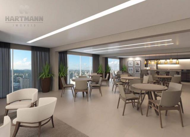 Apartamento com 3 dormitórios à venda por R$ 518.500,00 - Mercês - Curitiba/PR - Foto 17