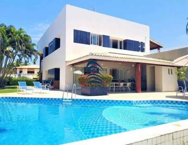 Casa de alto padrão com acesso a praia no condomínio Porto Busca Vida