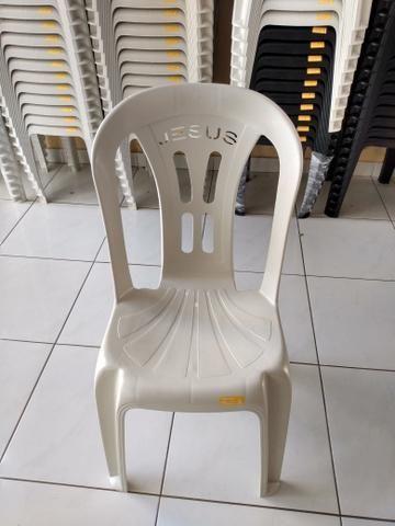 """Cadeira plástica acquarfort """"Jesus"""" - Foto 5"""