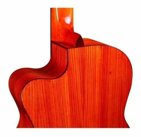 Violao Proffional Eletrico Acustico Di Giorgio Clássico 38e Nylon Profissional - Foto 3