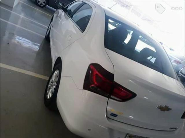 Vendo Chevrolet Cobalt Elite 1.8 automático,banco de couro marrom (Elite),IPVA 2020 pago - Foto 3