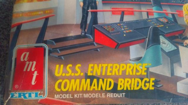 Star Trek Amt Ertl U.s.s. Enterprise Command Bridge Model - Foto 3