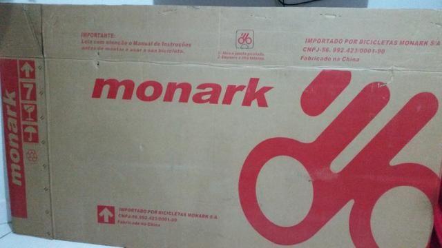 Bicicleta Monark Mk 27,5 Shimano 21m ALuminio - Foto 2