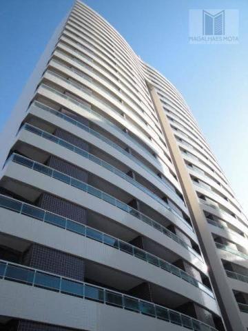 Apartamento com 2 dormitórios para alugar, 73 m² por R$ 2.020/mês - Meireles - Fortaleza/C